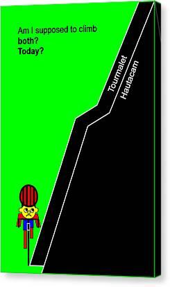 Tour De France 2014 Stage 18 Canvas Print by Asbjorn Lonvig