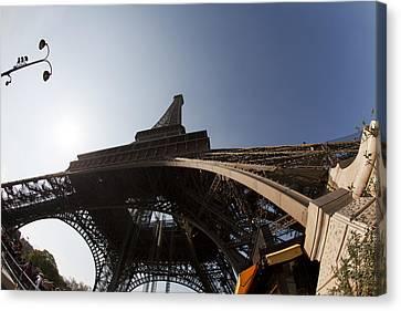 Tour Eiffel 5 Canvas Print by Art Ferrier
