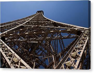 Tour Eiffel 7 Canvas Print by Art Ferrier