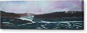Towards Edgecomb Canvas Print by Grace Keown