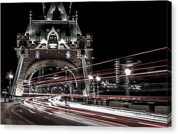 Tower Bridge London Canvas Print by Martin Newman