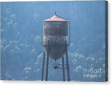 Tower In The Trees Canvas Print by Lotus