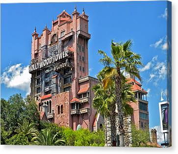 Tower Of Terror Canvas Print by Thomas Woolworth