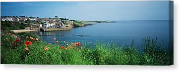 Town At The Waterfront, Crail, Fife Canvas Print by Panoramic Images