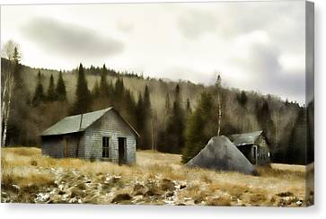 Township Remnants Canvas Print by Richard Bean