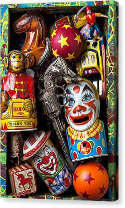 Toy Box Canvas Print by Garry Gay
