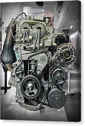 Toyota Engine Canvas Print by RicardMN Photography