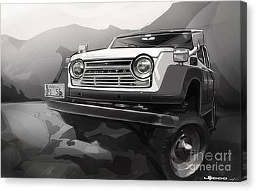 Toyota Fj55 Land Cruiser Canvas Print by Uli Gonzalez