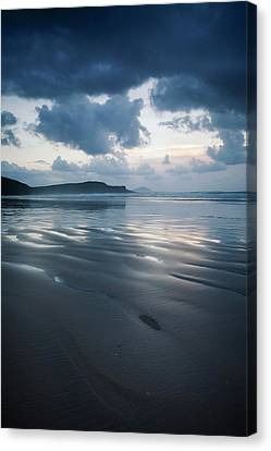 Tra Mor Beach, Near Dunfanaghy  County Canvas Print by Peter McCabe