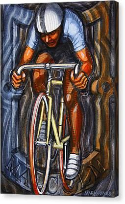 Track Racer  Canvas Print by Mark Howard Jones