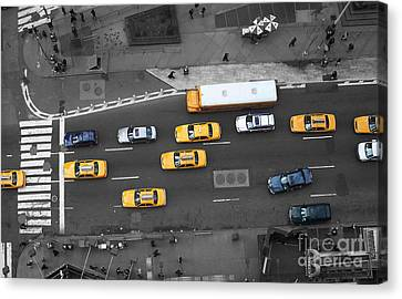 Traffic Report Canvas Print by Dan Holm