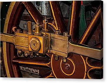 Train Connecting Rod Canvas Print by Paul Freidlund