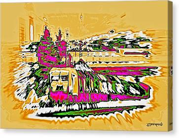 Train Canvas Print by Klaas Hartz