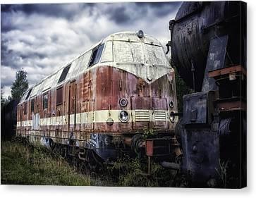 Train Memories Canvas Print by Mountain Dreams