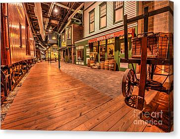 Train Station Canvas Print by Paul W Faust -  Impressions of Light