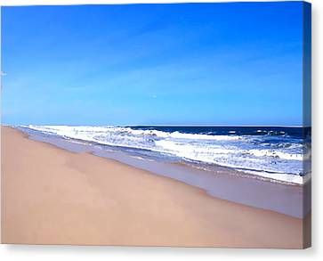 Tranquility II By David Pucciarelli  Canvas Print by Iconic Images Art Gallery David Pucciarelli