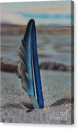Tranquility Canvas Print by Jackie Mestrom