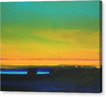 Tranquility Canvas Print by Savlen Art