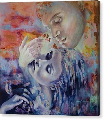 Transcendental Canvas Print by Dorina  Costras