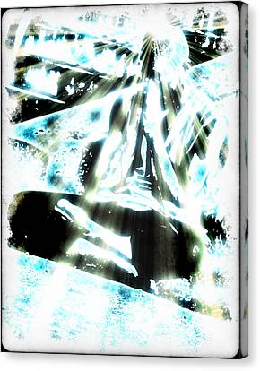 Transcending Canvas Print by Frederico Borges