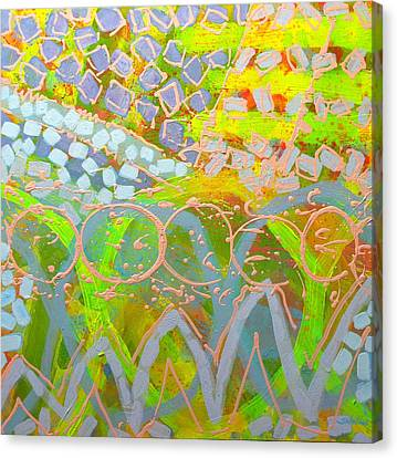 Translucent Abstract Canvas Print by John  Nolan