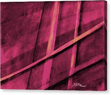 Trapped    Number 1 Canvas Print by Diane Strain