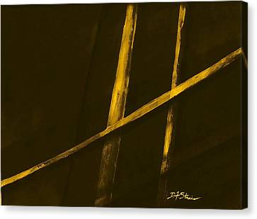 Trapped    Number 2 Canvas Print by Diane Strain