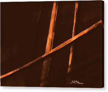 Trapped    Number 4 Canvas Print by Diane Strain