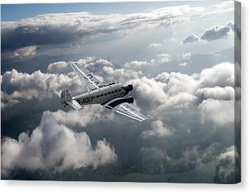 Travel In An Age Of Elegance Canvas Print by Gary Eason