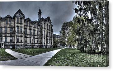 Traverse City State Mental Hospital Canvas Print by Twenty Two North Photography