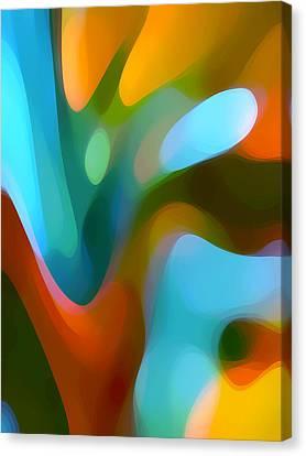 Tree Light 3 Canvas Print by Amy Vangsgard