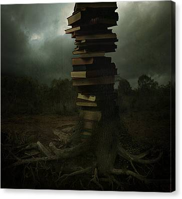 Tree Of Knowledge Canvas Print by Fern Evans