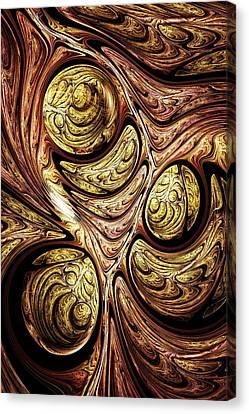 Tree Of Life Canvas Print by Anastasiya Malakhova
