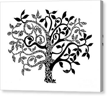 Tree Of Life Canvas Print by Anushree Santhosh