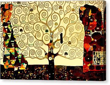 Tree Of Life Canvas Print by Henryk Gorecki