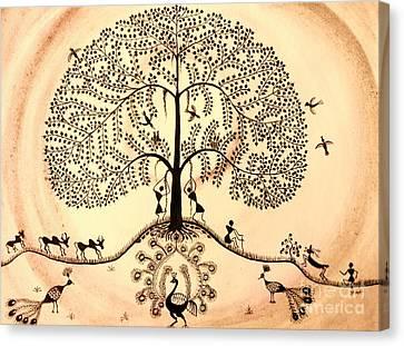 Tree Of Life II Canvas Print by Anjali Vaidya