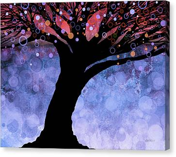 Tree Of Life Three Canvas Print by Ann Powell