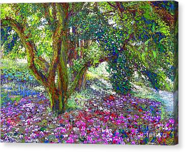 Tree Of Tranquillity Canvas Print by Jane Small