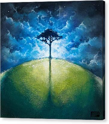 Treelogy I Canvas Print by Vincent Carrozza