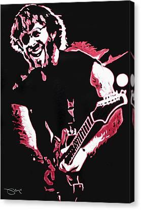 Trey Anastasio In Pink Canvas Print by Joshua Morton