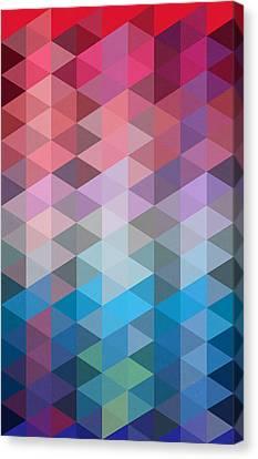 Triangles Canvas Print by Mark Ashkenazi