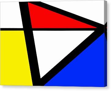 Triangularism I Canvas Print by Richard Reeve