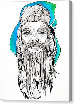 The Dream Catcher Canvas Print by Morgane Xenos
