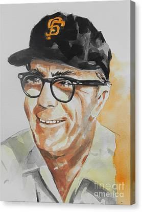 Tribute To Edward Logan My Grandfather  Canvas Print by Chrisann Ellis