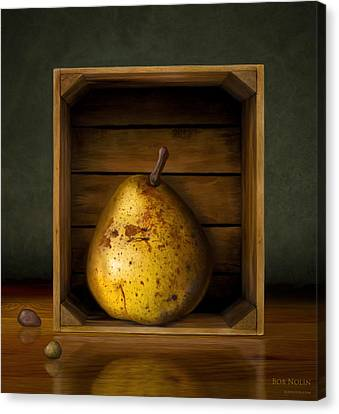 Tribute To Magritte Canvas Print by Bob Nolin