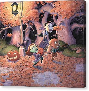 Trick Or Treat Canvas Print by Richard Moore