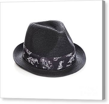Trilby Hat Canvas Print by Colin and Linda McKie
