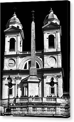 Trinita Church Canvas Print by John Rizzuto