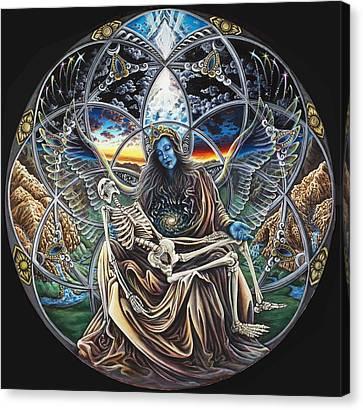 Trinity Canvas Print by Morgan  Mandala Manley