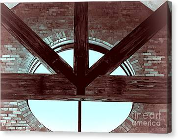 Trinity Series 5 Canvas Print by Luther   Fine Art